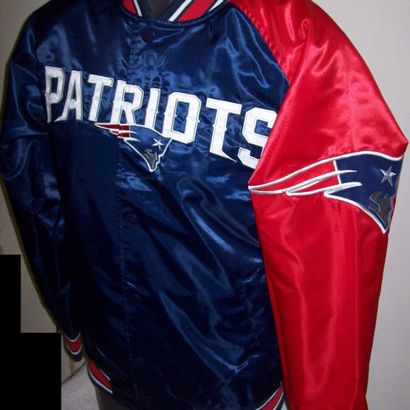 cb33b054 NEW ENGLAND PATRIOTS Dugout Starter Jacket Boutique